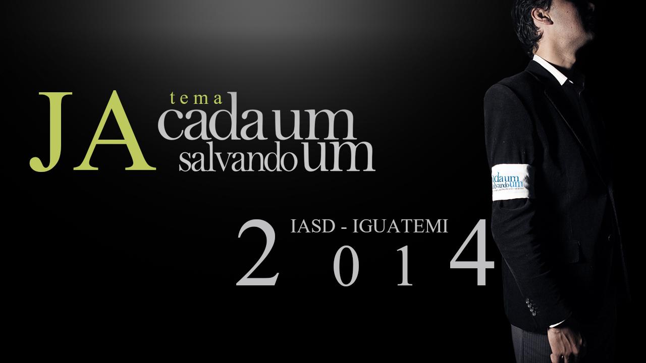 """JA 2014 – """"CADA UM SALVANDO UM"""""""